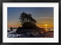 Framed Botany Bay Sunset