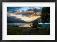 Framed Crescent Lake Chair