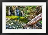 Framed Falls Creek