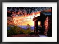 Framed Grand Canyon Cabin