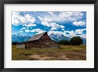 Framed Grand Teton Barn I