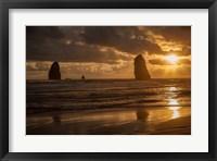 Framed Monolith Sunset