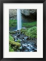 Framed Oregon Waterfall