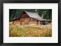 Framed Teton Barn