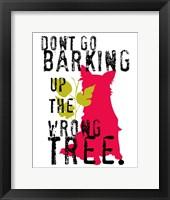 Framed Don't Go Barking