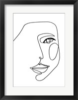 Framed Face Line 1