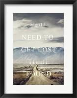 Framed Get Lost