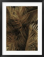 Framed Golden Palm 2
