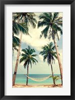 Framed Palm Sky 3