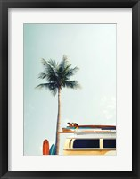 Framed Surf Bus Yellow