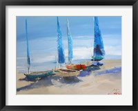 Framed Before the Sail