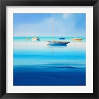 Framed Blue Couta