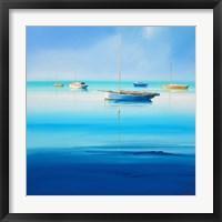 Framed Blue Couta