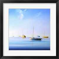 Framed Blue Couta 2