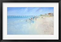 Framed Low Tide at Henley