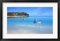 Framed Low Tide Sorrento