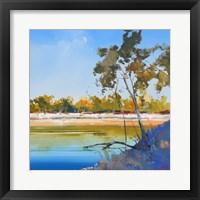 Framed River Bank