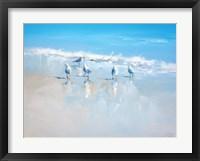 Framed Sorrento Gulls