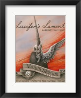 Framed Lucifer's Lament