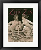 Framed Zeus' Zin