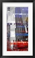 Framed New York Sky II