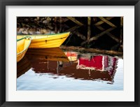 Framed Dories and Reflection