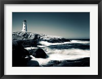 Framed Lighthouse, Peggy's Cove