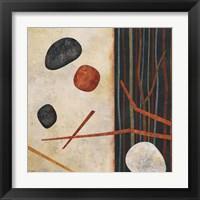 Framed Sticks and Stones II