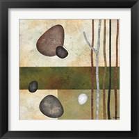 Framed Sticks and Stones VI