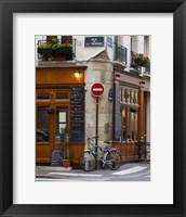 Framed Rue de la Colombe