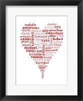 Framed Translation of Love (white)