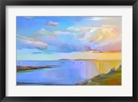 Framed Summer Cove