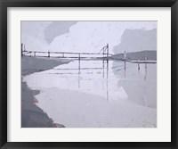 Framed Tidal River