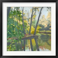 Framed Wooded Pond