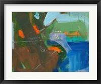 Framed Blue Pool Fragment 3