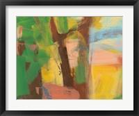 Framed Peach Shore Fragment 5