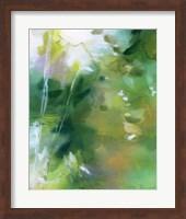 Framed Verdant Shallows I