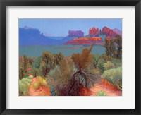 Framed High Desert