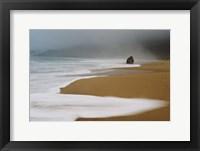 Framed Foggy Beach