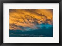 Framed Golden Clouds