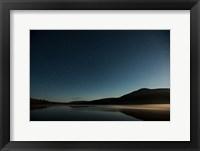 Framed Stars Over Lake