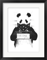 Framed Bad Panda