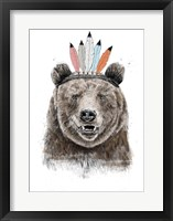 Framed Festival Bear
