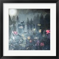 Framed Moonlit Moment