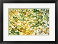 Framed Autumn Tapestry