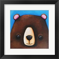 Framed Black Bear