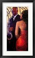 Framed Sax Seduction