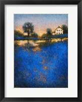 Framed Blue Fields