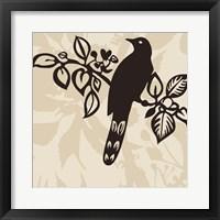 Framed Song Bird 1