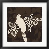 Framed Song Bird 2